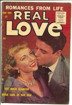 Real Love #68 1955-Ace-photo cover-Too Much Glamour-VG - $58.20