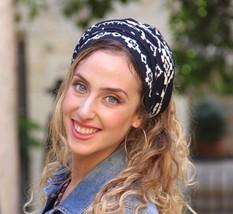 Indian Navy Wrap Headscarf Headband Tichel ,Snood, Head Scarf,Head Cover... - $48.41