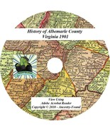 1901 History & Genealogy ALBEMARLE County Virginia VA - Ancestry Family ... - $5.86