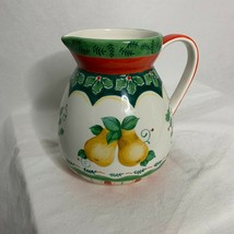 Partridge and Pears Suzanne Nicoll Pitcher Holiday Entertaining Kitchen ... - $24.75