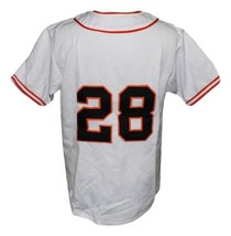 Willie Mays Minneapolis Millers Retro Baseball Jersey Button Down White Any Size image 5