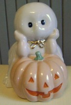Bashful Ghost~Lenox~Halloween~Figurine~October Decoration~Jack O Lantern... - $23.36