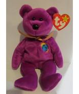 Ty Beanie Baby Millennium Millenium Bear Errors  Gasport 1999 - $237.50
