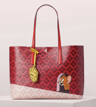 Kate Spade Tom & Jerry Large Tote w/ Pouch ~NWT~ Red - $235.62