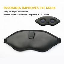 Dzzkoye Mens Sleep Mask Emits Advanced LED Lights to Alleviate Insomnia ... - $29.43