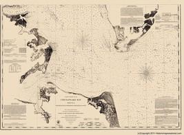 Chesapeake Bay - USCS  1863 - 23 x 31.31 - $36.95+