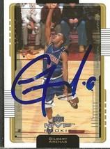 Gilbert Arenas 2001 Upper Deck MVP Autograph RC #211 Warriors Arizona - $18.58