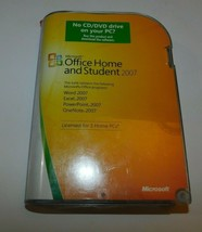 Microsoft Office Home and Office 2007 Student & Office Standard 2007 Upgrade - $50.00