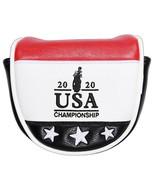 golf putter head cover USA 2020 putter headcover Mallet Putter Headcover... - $25.21