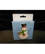 "Christmas Cardboard Gift Card Holder - Snowman 4"" X 4"" X 1""  - $5.89"