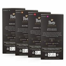 Peet's Coffee Espresso Capsules Variety Pack 40 Count Single Cup Coffee Pods NEW image 3