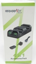 GameFitz 4 IN 1 Accessoires Kit Double Charge Station & Battery Pack Pou... - $10.38
