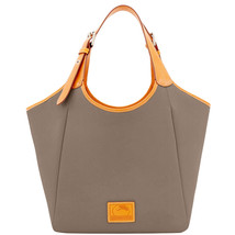 Dooney & Bourke Patterson Taupe Pebble Leather ... - $519.99