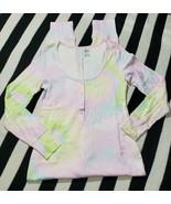PINK Victoria's Secret Tie-Dye One Piece Sleeper Romper Jumper Outfit PJ... - $48.36