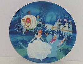 Disney 1988 Cinderella Bibbidi Bobbidi Boo Collectors Plate Knowles W/BOX Coa - $22.52