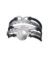 Basketball Love Infinity Bracelet - $9.99