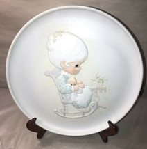 Precious Moments Purr-fect Grandma Collectors Plate - $9.90
