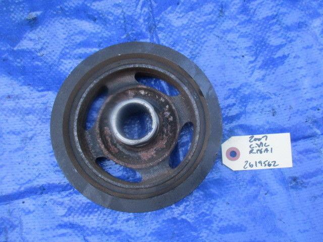 06-09 Honda Civic R18A1 VTEC crankshaft pulley OEM engine motor R18 crank RNA