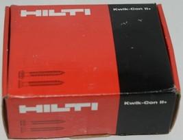 HILTI KWIK CON II PLUS 433053 Phillips Flat Head Screws 1/4 x 3 3/4 Box of 100 image 2