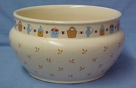 David Davir Small Pot Pottery Crock Our Home National Housewares Japan - $24.47