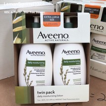 NEW 2 pack Aveeno Active Naturals Daily Moisturizing Lotion ( 20oz each)... - $29.69