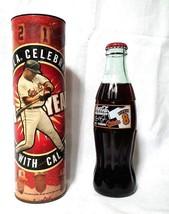 Cal Ripken Coca Cola Bottle w/ Tube, Orioles 21 years Retirement 2001 - $9.99
