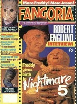 Fangoria Horror Magazine #86 Nightmare 5 1989 NEAR MINT - $8.75