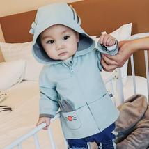 Baby Coat Cotton Cartoon Rabbit Hooded Casual Windbreaker Boys Girls - $37.72 CAD+