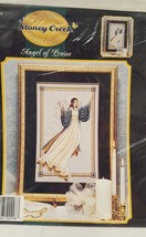 Angel of Praise Cross Stitch Leaflet CC009 Stoney Creek 1997 Classic Col... - $10.99