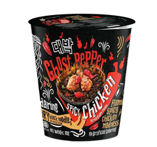 2X80g INSTANT NOODLES GHOST PEPPER MAMEE DAEBAK SPICY CHICKEN IN CUP FRE... - $15.90