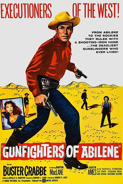 Primary image for Gunfighters Of Abilene - 1959 - Movie Poster