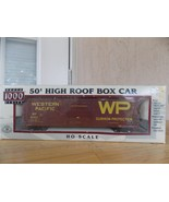 Life Like HO Scale Proto 1000 Series Western Pacific Roof Box Car - $25.00