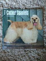 NEW 2018 Cocker Spaniels Calendar - $11.99
