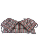 Northlight 3-Piece Simply Striped Outdoor Patio Tufted Seat Cushions wit... - $82.90