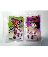 Burger King Combo Toy Pack - Power Puff Girls Blossom & Dragon Ball Z Gohan - $9.99