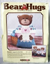 "Vintage Bear Hugs Emma Mama Teddy Bear Dimensions Needlepoint Kit  9.5"" ... - $23.70"