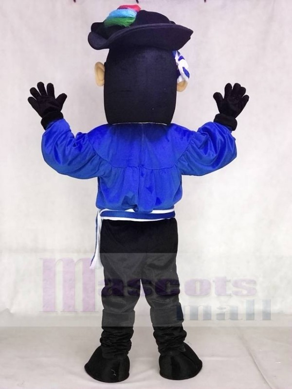 Dark Blue Pirate Mascot Costumes People and 50 similar items