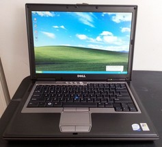Dell Latitude D630 Laptop Windows XP Core2 Duo 80GB HD DVD wifi MS OFFIC... - $111.82