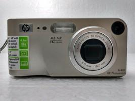 HP PhotoSmart M407 4.1MP Digital Camera W/ Wrist Strap - Silver - $24.00