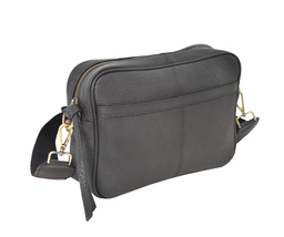 Women's Leather Handbag Embroidered Tribal Pattern Strap Shoulder Purse image 4