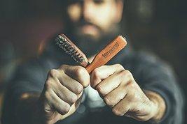 Vegan Beard Brush - Vegetal Bristles for Beard and Moustache from Golden Beards  image 7