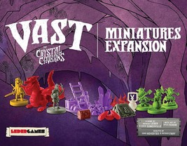 Vast The Crystal Caverns Miniatures Expansion Mini Pack Board Game LED00003 - $32.90