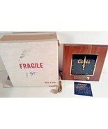 VINTAGE COORS CLOCK AWARD PLAQUE 2ND ANNIVERSARY FIRST FLIGHT CHAMPIONS ... - $29.99
