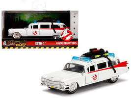 "1959 Cadillac Ambulance Ecto-1 from ""Ghostbusters\"" Movie \""Hollywood Rides\"" S - $17.14"