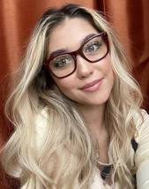 New TORY BURCH TY 0340 8116 Burgundy 49mm Rx Women's Eyeglasses Frame - $99.99