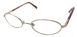 Calvin Klein CK Eyeglasses Frames Oval 48-18-140 Bronze / Tortoise - $28.12