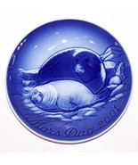 "STUNNING 2001 B&G BING & GRONDAHL DENMARK MOTHER'S DAY SEAL WITH PUP 6"" ... - $13.85"