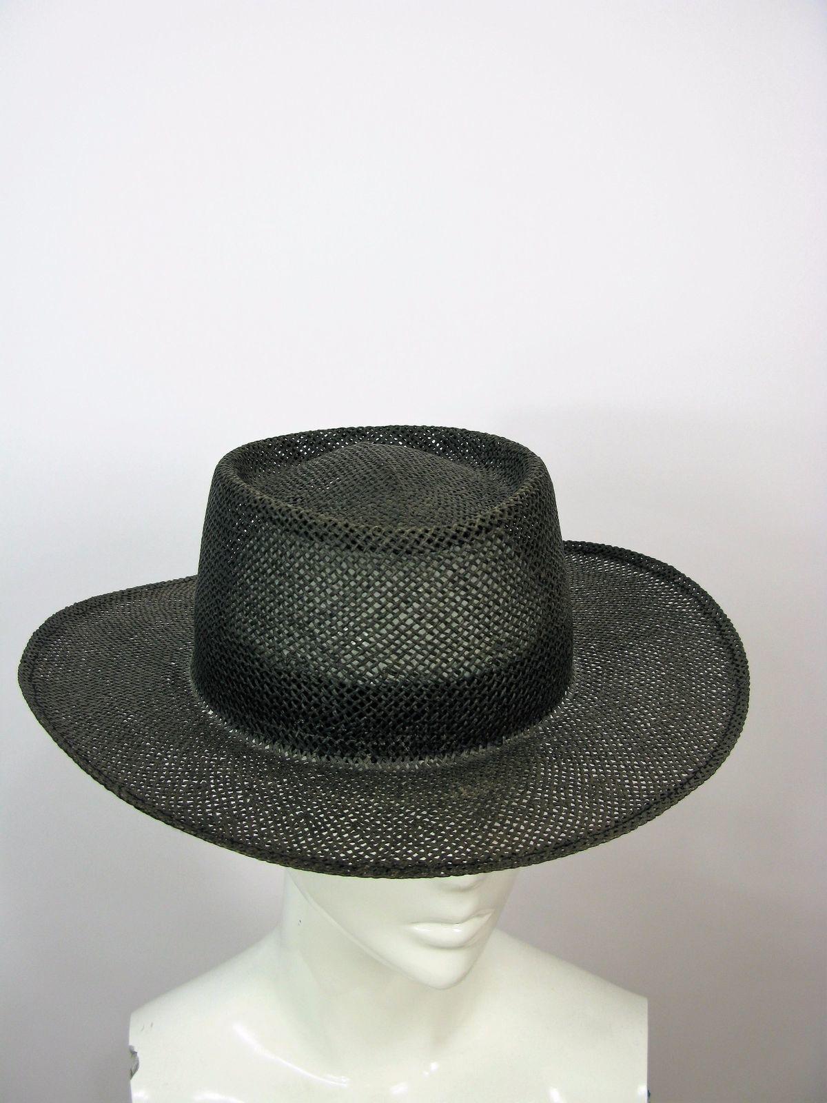 Panama Hat Vintage Genuine Town Talk Louisville Kentucky Panama Hat OS
