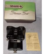 Sawyer's View Master Stereo Set Model C with Light Attachment and Box - $29.95