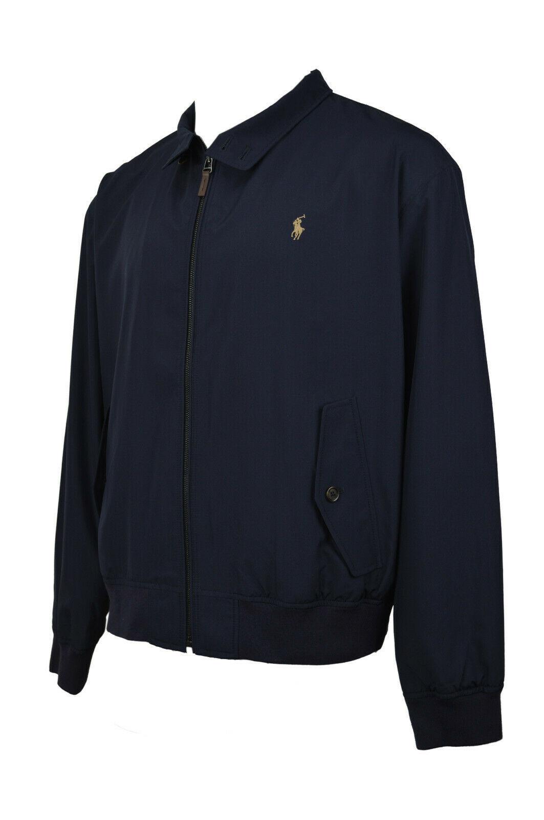 Polo Ralph Lauren Mens Blue Bi-Swing Windbreaker Jacket Coat Sz 2XL XXL 7394-3